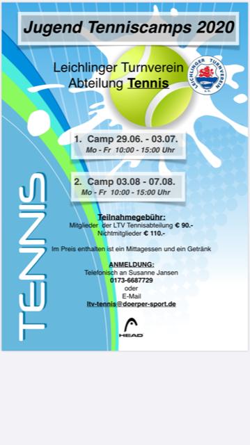 Neues vom Tennis!